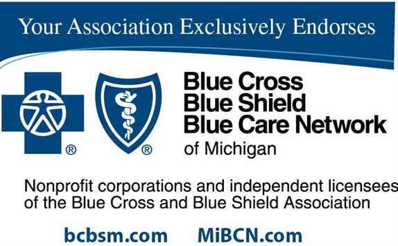 Your Association Exclusively Endorses Blue Cross Blue Shield